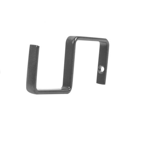 Набор крючков тонких Delinia ID, сталь, антрацит, 4 шт.