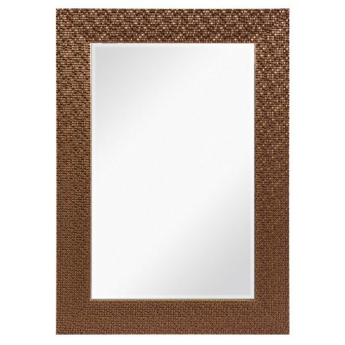 Зеркало в раме «Мозаика» 50х70 см цвет бронзовый