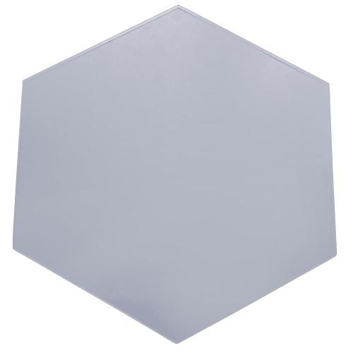 Плитка декоративная зеркальная «Соты» цвет графит