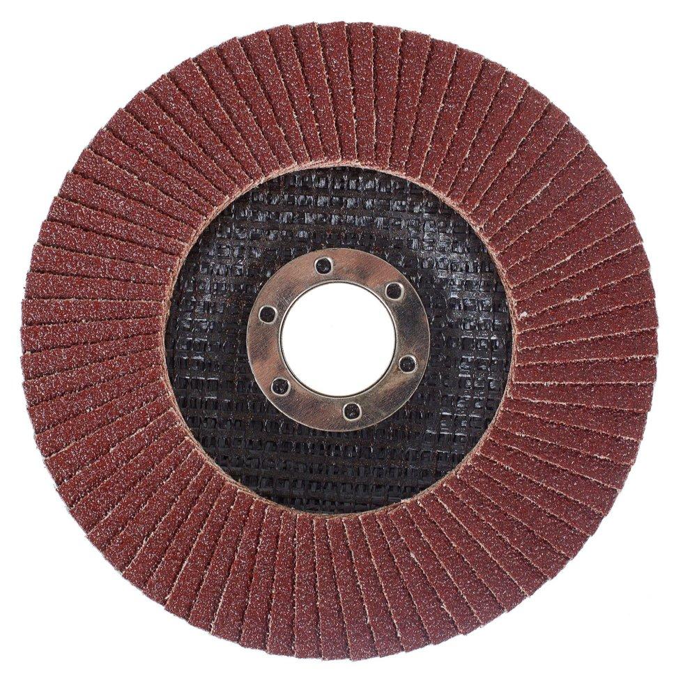 Круг лепестковый Р80, 125х22 мм