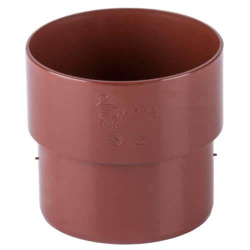 Муфта соединительная Dacha 80 мм цвет красный