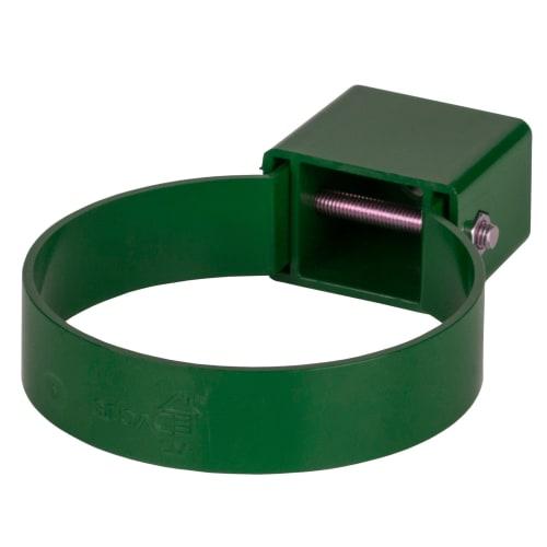 Хомут универсальный Dacha 80 мм цвет зелёный