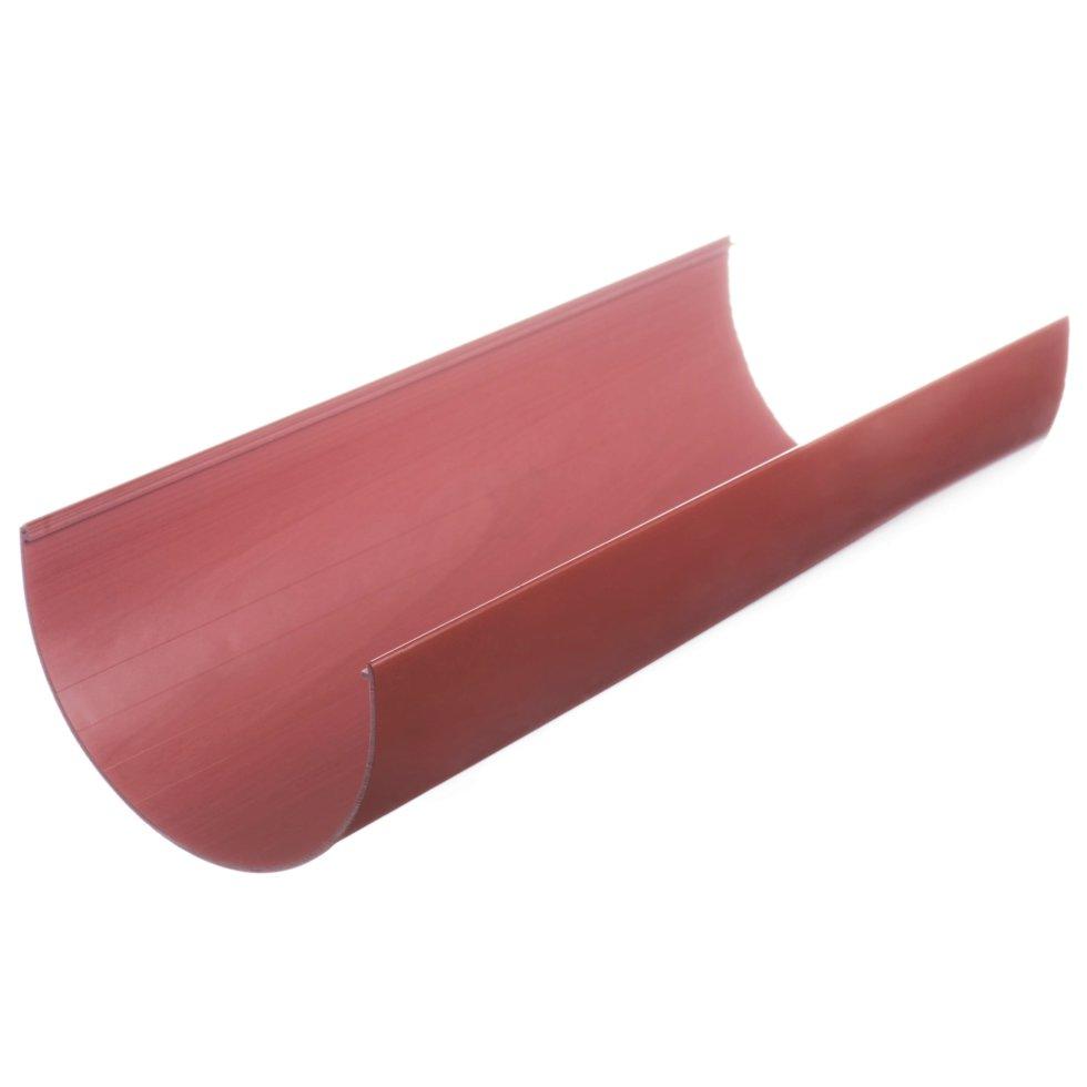 Желоб водосточный Dacha 120 мм 3 м цвет красный