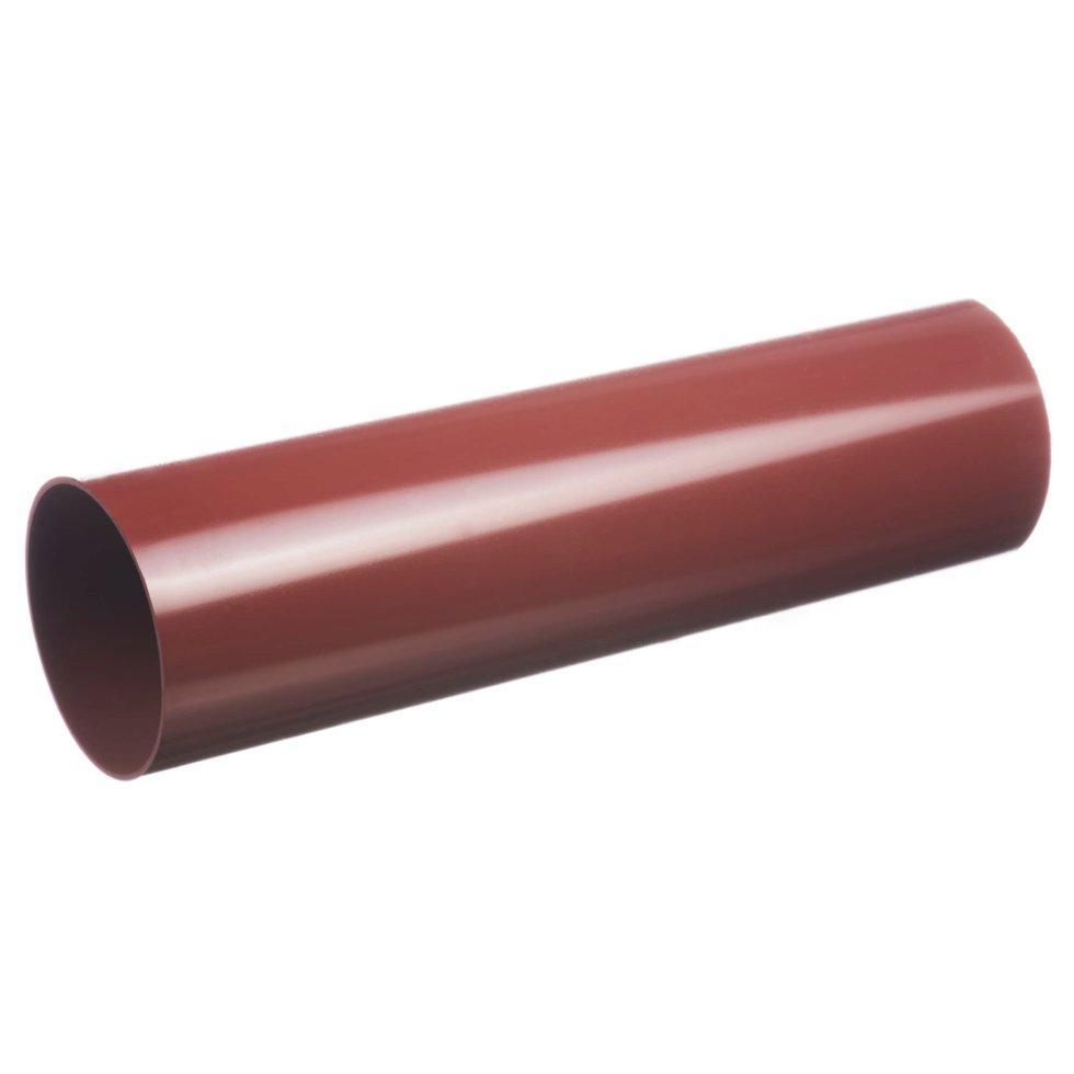 Труба водосточная Dacha 80 мм 3 м цвет красный