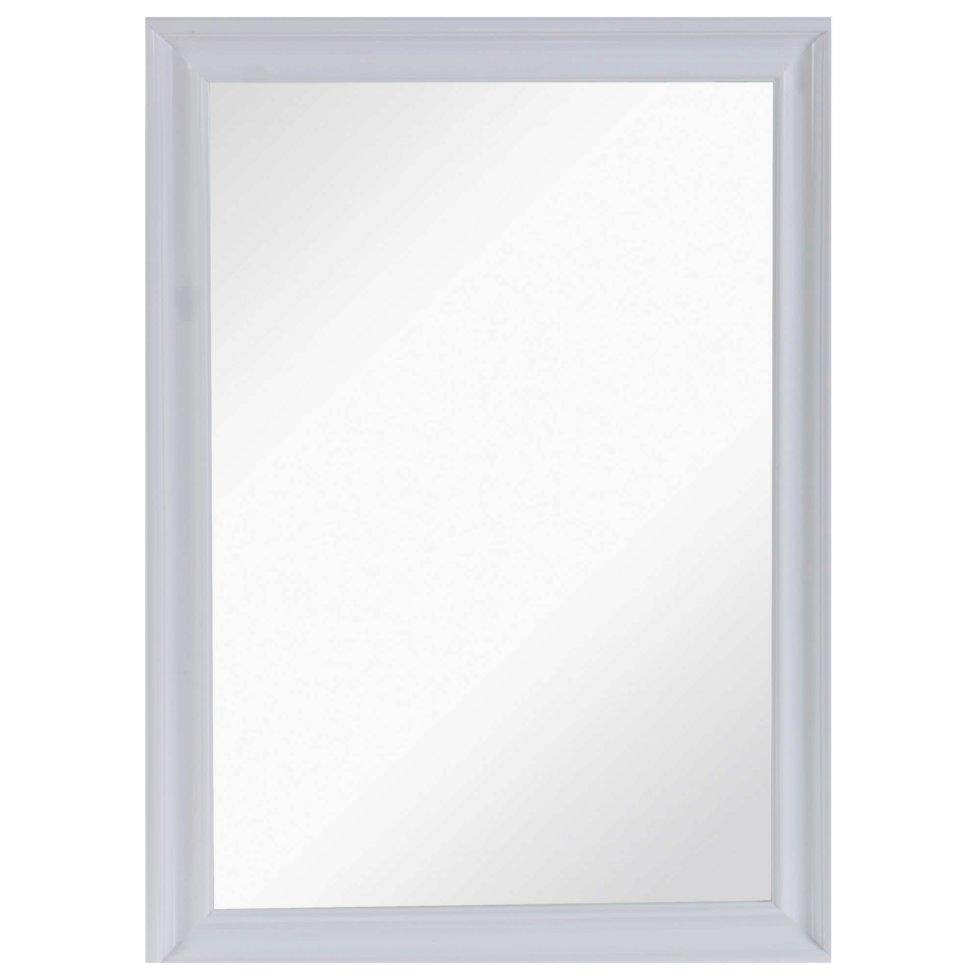 Зеркало настенное «Классика» 50х70 см цвет белый