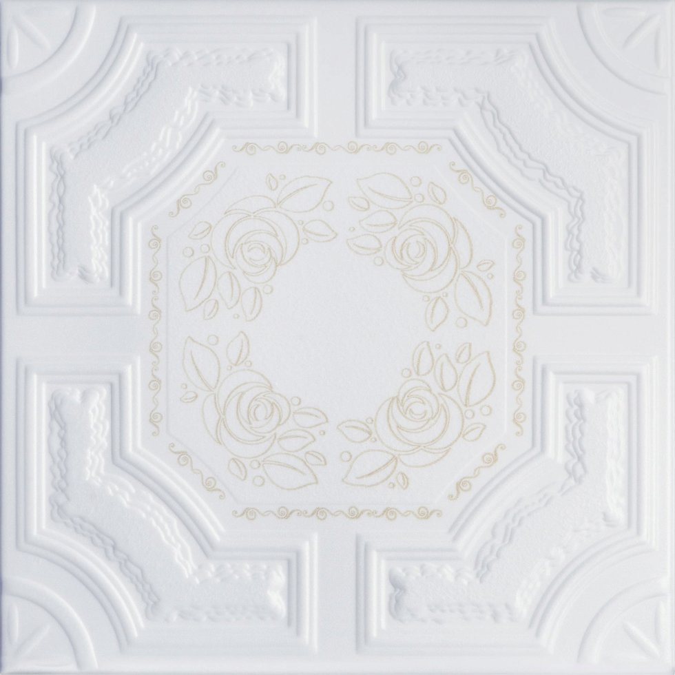 Плита потолочная «Империал» 2 м цвет золотой