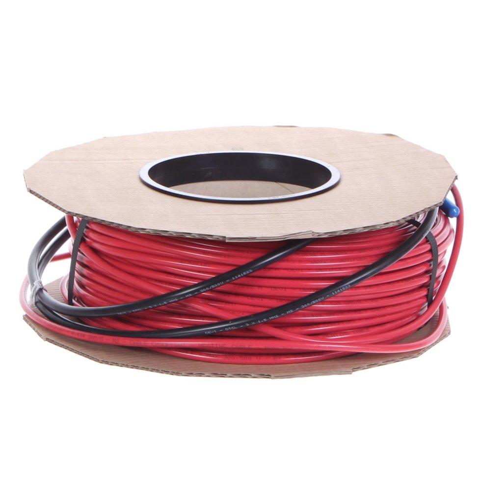Тёплый пол кабельный Devi 1485 Вт 82 м