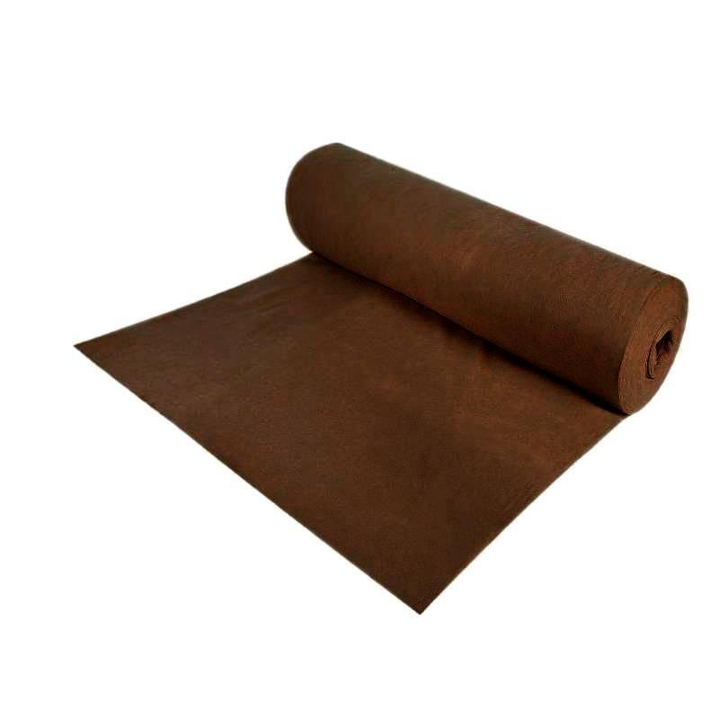 Геотекстиль 100 г/м, 1х20 м, цвет коричневый