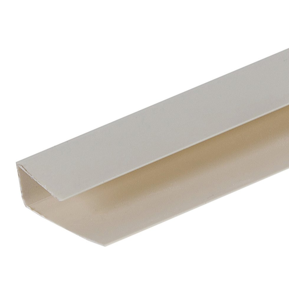 Профиль ПВХ Artens т8/10 мм 3 м цвет серый