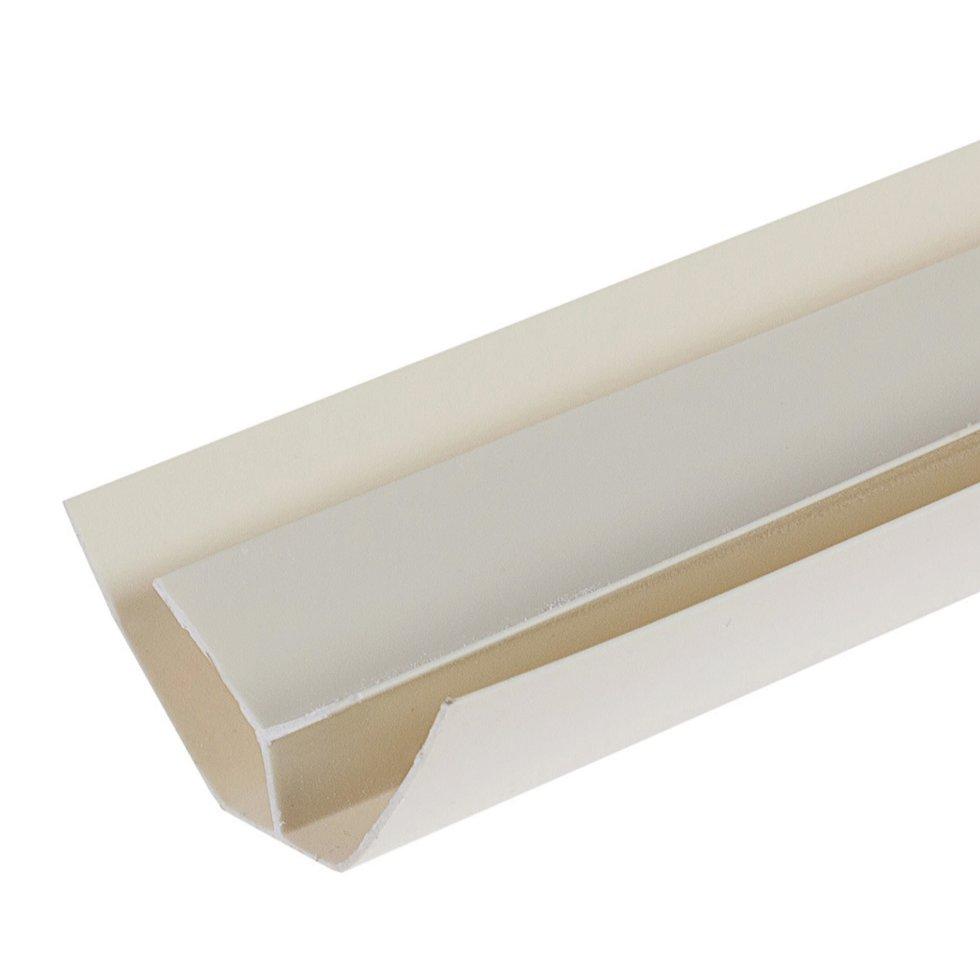 Профиль ПВХ Artens внутренний угол т8/10 мм 3 м цвет серый
