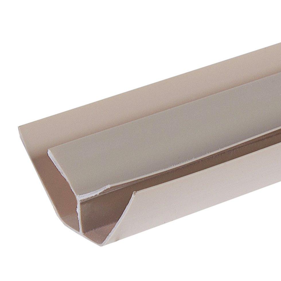 Профиль ПВХ Artens внутренний угол т8/10 мм 3 м цвет бежевый