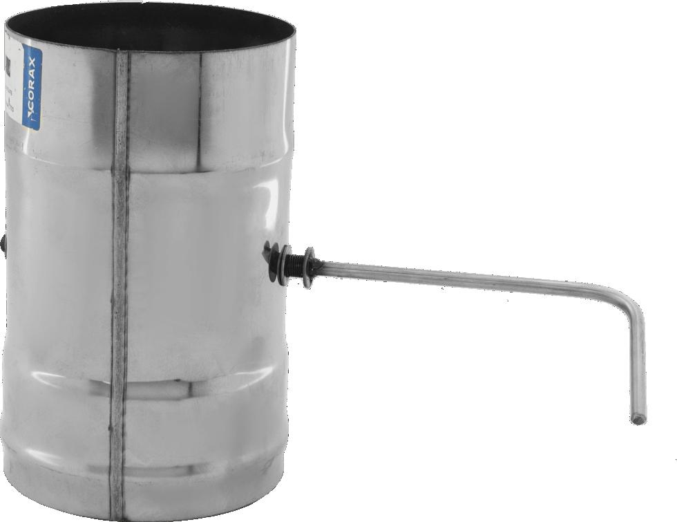 Шибер 430/0.8 мм D120