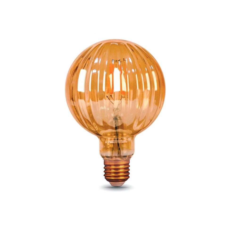 Лампа светодиодная Gauss Filament Balloon E27 4 Вт 380 Лм свет тёплый белый