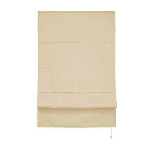 Штора римская «Лея», 120х160 см, цвет кремовый