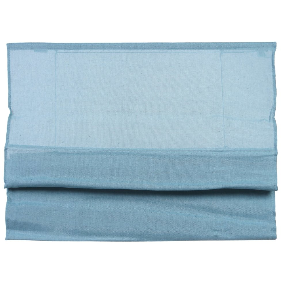 Штора римская «Натур», 160х160 см, цвет синий