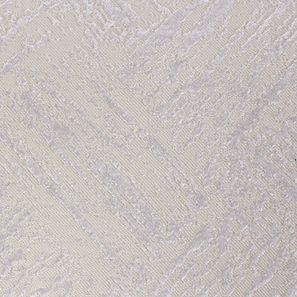 Ткань жаккард «Ромб» 280 см цвет молочный