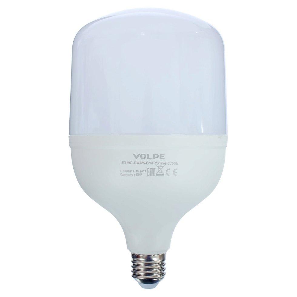 Лампа светодиодная Volpe Е27 40 Вт 3300 Лм свет холодный белый