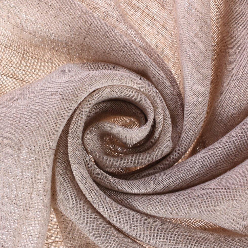 Тюль «Висилло Тинтура», 300 см, абстракция, цвет бежевый