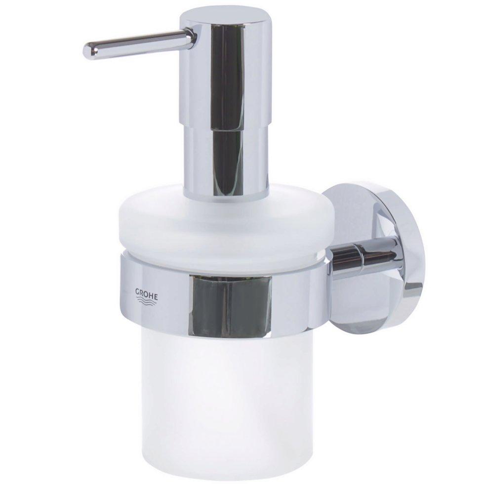Дозатор подвесной для жидкого мыла «Essential»