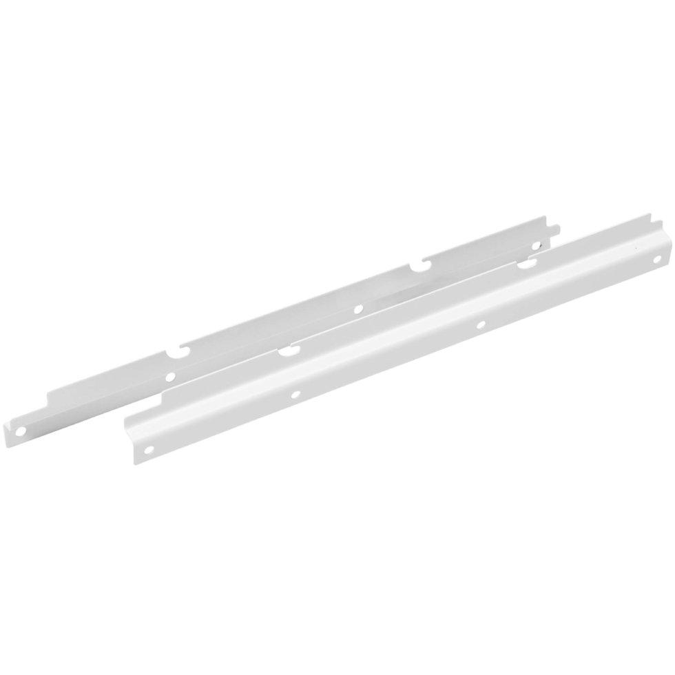 Боковое крепление для шкафа НСХ 35x13.4x372 мм цвет белый, 2 шт.