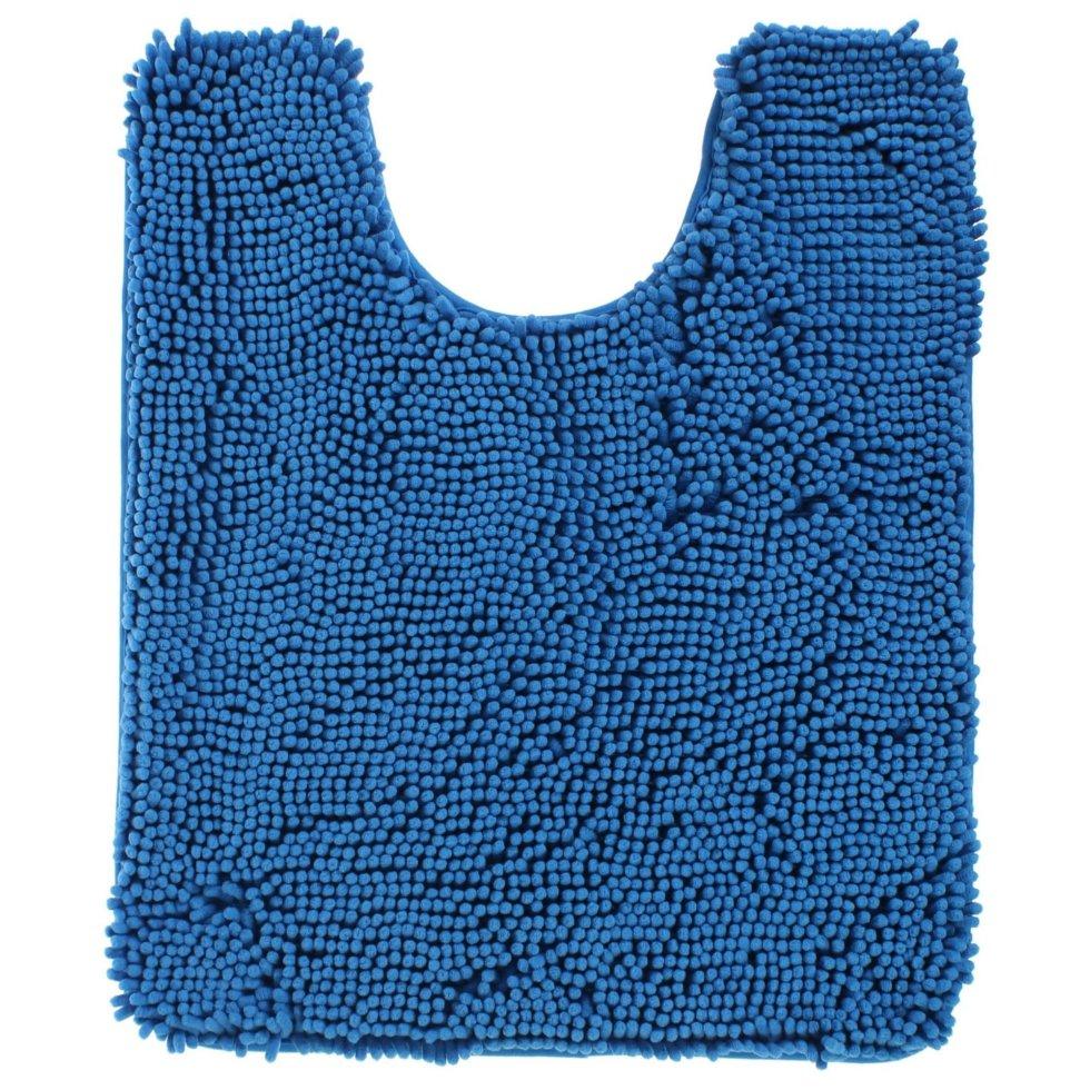 Коврик для ванной комнаты «Cingolo» 50х60 см цвет синий