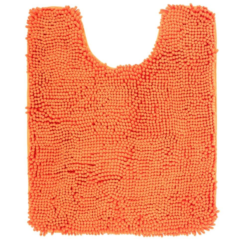 Коврик для ванной комнаты «Cingolo» 50х60 см цвет оранжевый