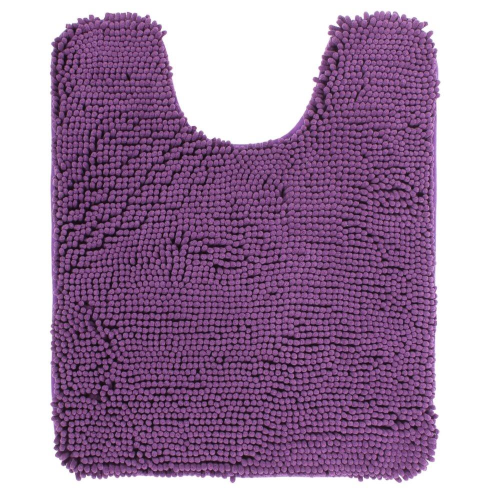 Коврик для ванной комнаты «Cingolo» 50х60 см цвет фиолетовый