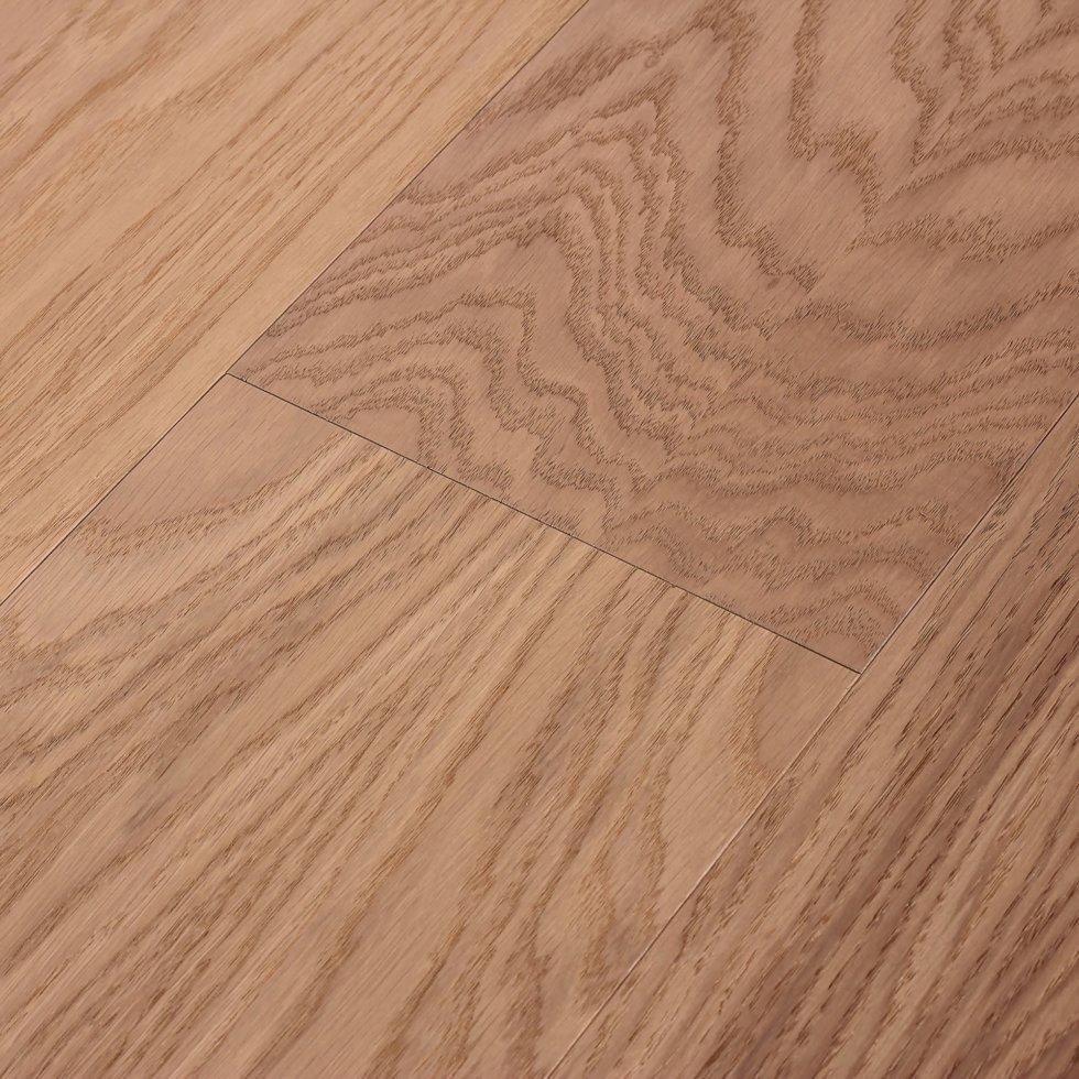 Шпонированная напольная доска на основе HDF «Дуб песочный», 2.25 м2