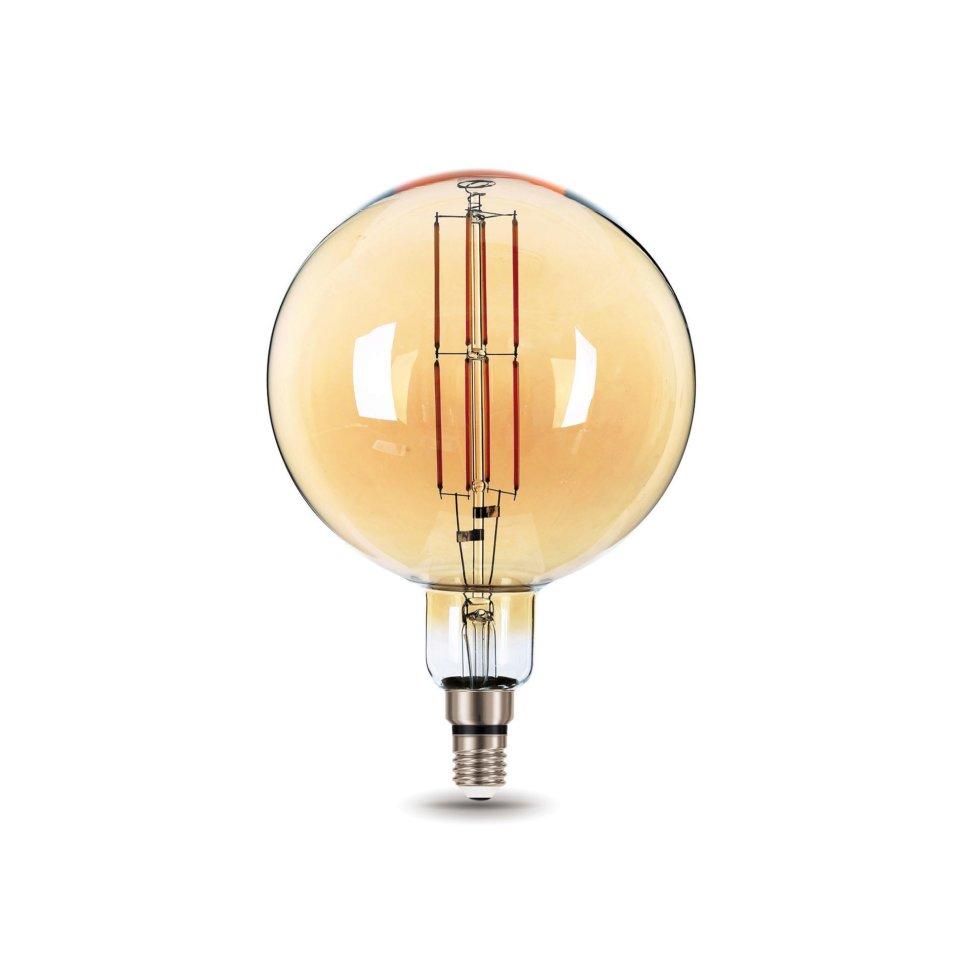 Лампа светодиодная Gauss Е27 8 Вт шар прямой, свет тёплый