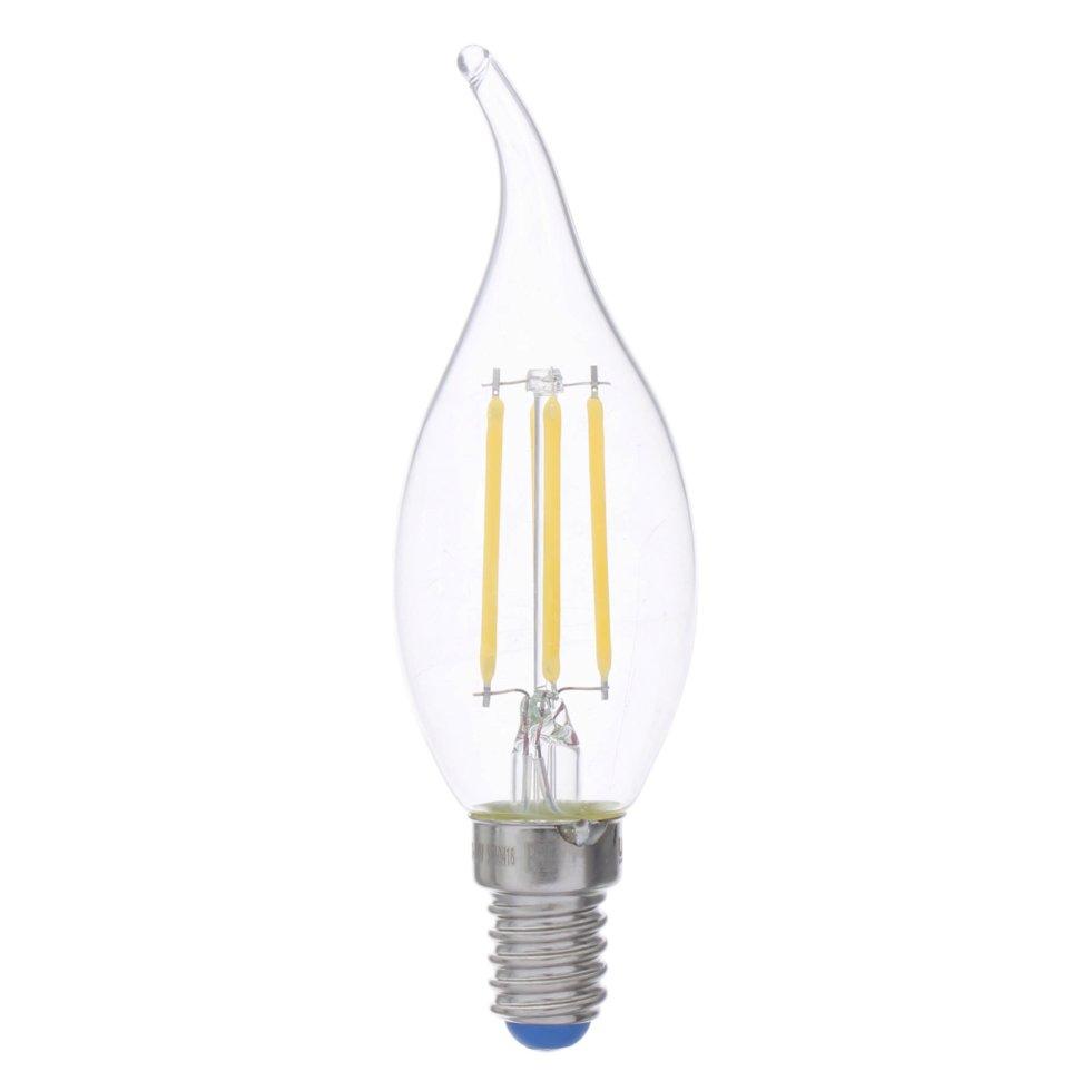 Лампа светодиодная филаментная Airdim, E14 5 Вт 500 Лм свет холодный