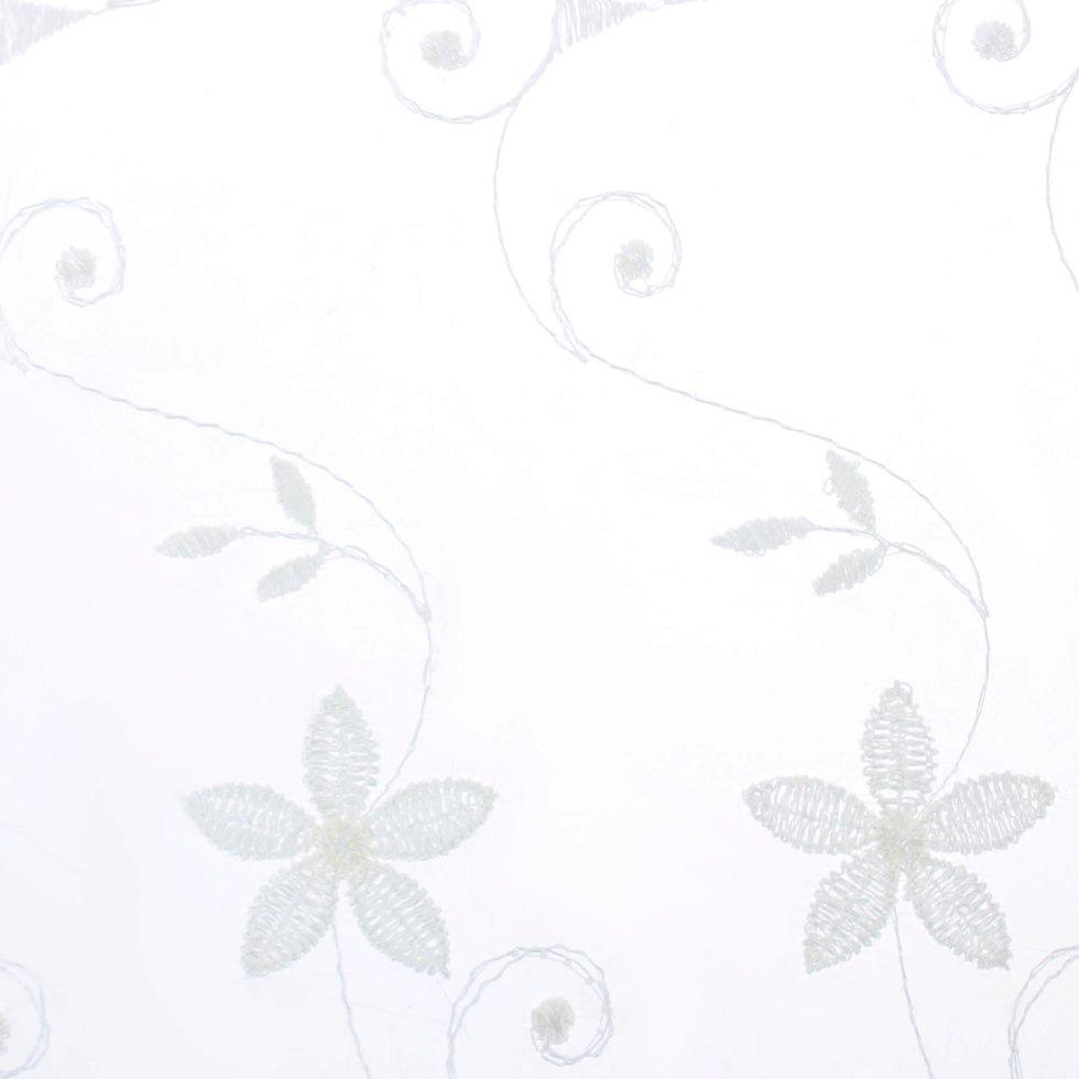 Тюль 1 п/м, вышивка, 280 см, цвет экрю