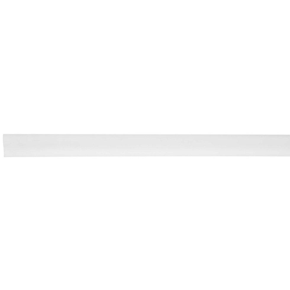 Молдинг настенный WL7 ударопрочный, 25х12.5 см, длина 2 м, цвет белый