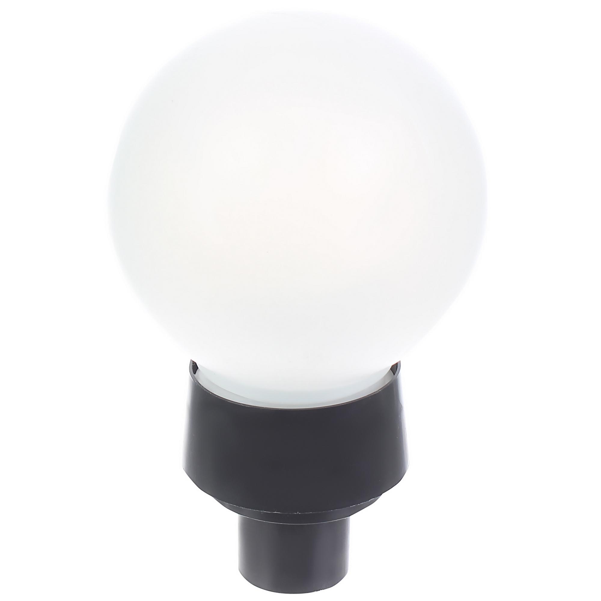 Светильник уличный «Шар», E27х60 Вт, пластик, IP43