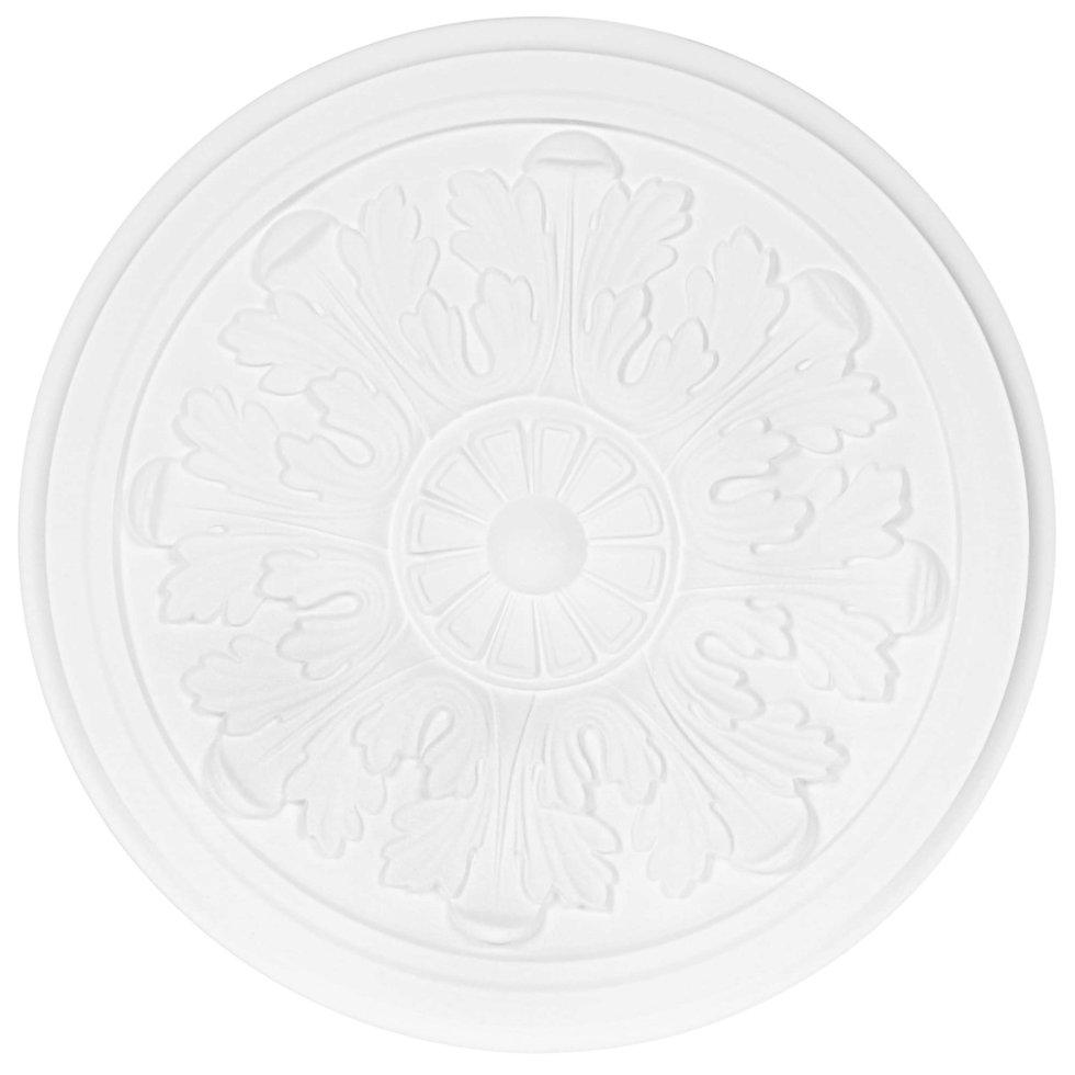 Розетка потолочная полиуретановая М63 D 32.5 см