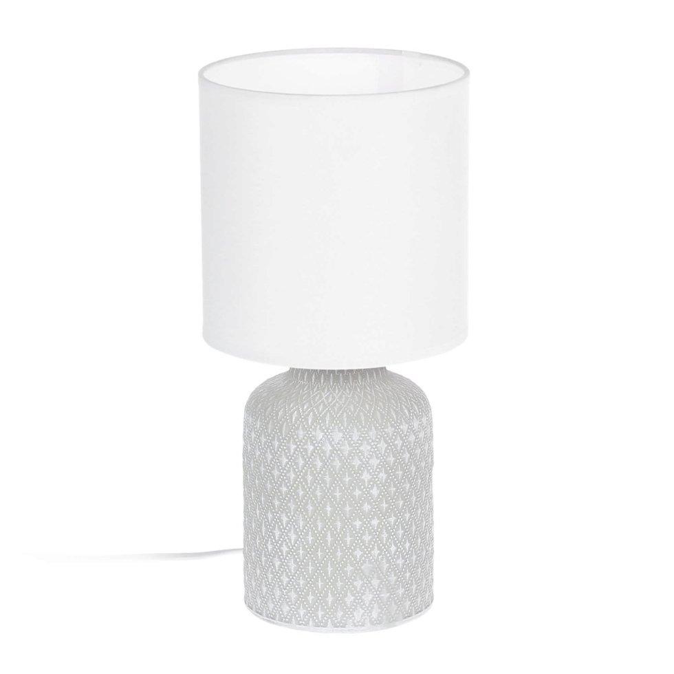 Лампа настольная «Bellariva» 1X40 ВтхE14, цвет кремовый/белый