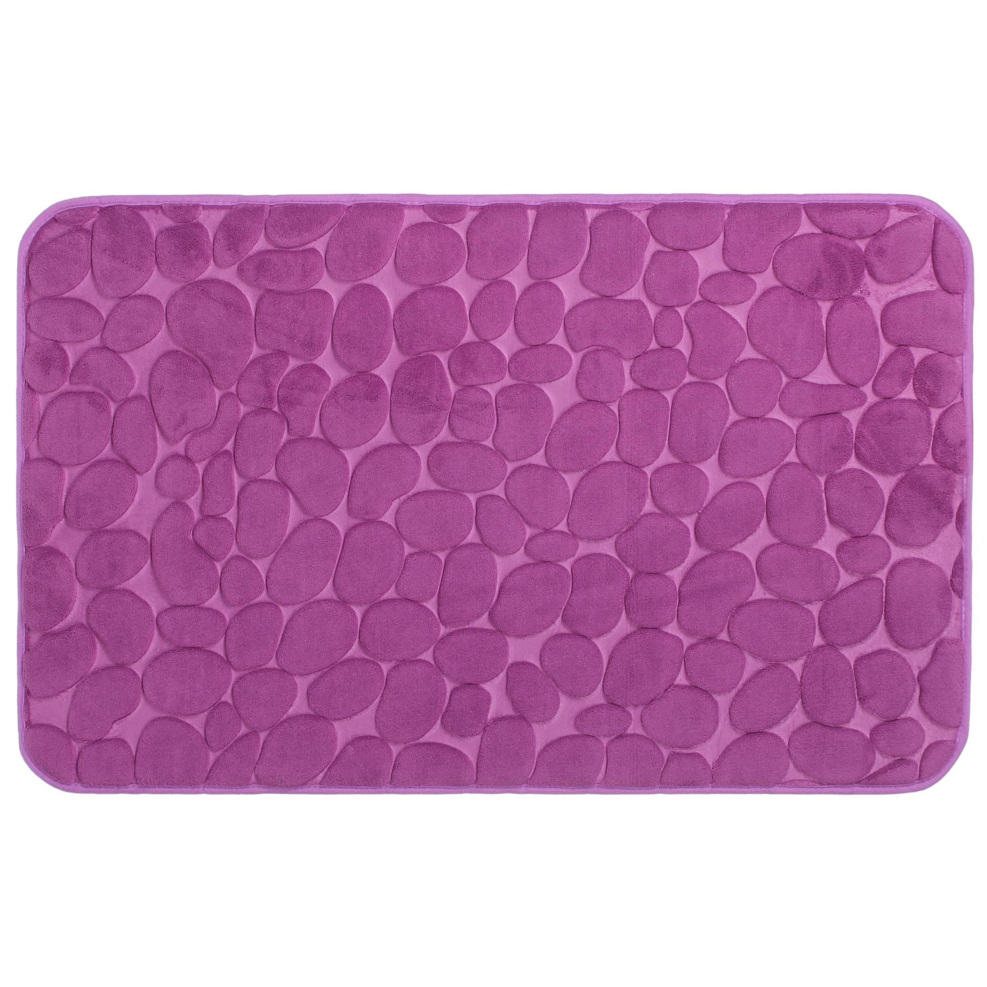 Коврик для ванной Grampus 80х50 см цвет фиолетовый
