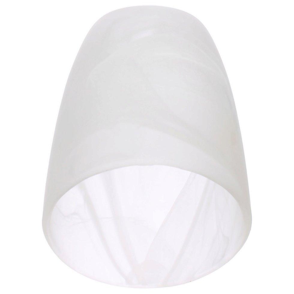 Плафон VL0054P, Е14, 60 Вт, стекло, цвет белый