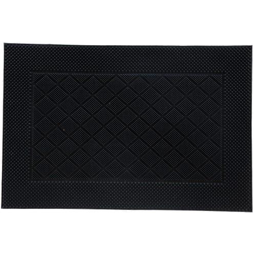 Коврик «Nahel» 40x60 см, резина, цвет чёрный