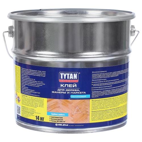 Клей для фанеры и паркета Tytan 14 кг