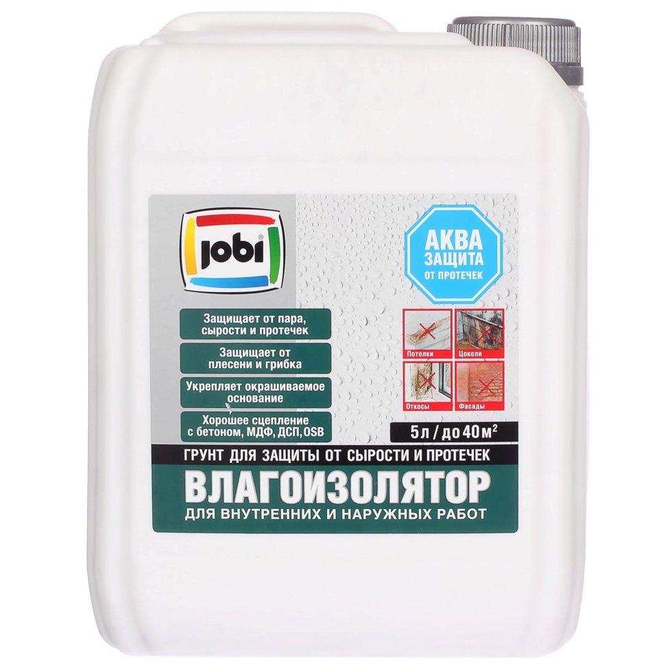 Грунт-влагоизолятор Jobi, 5 л