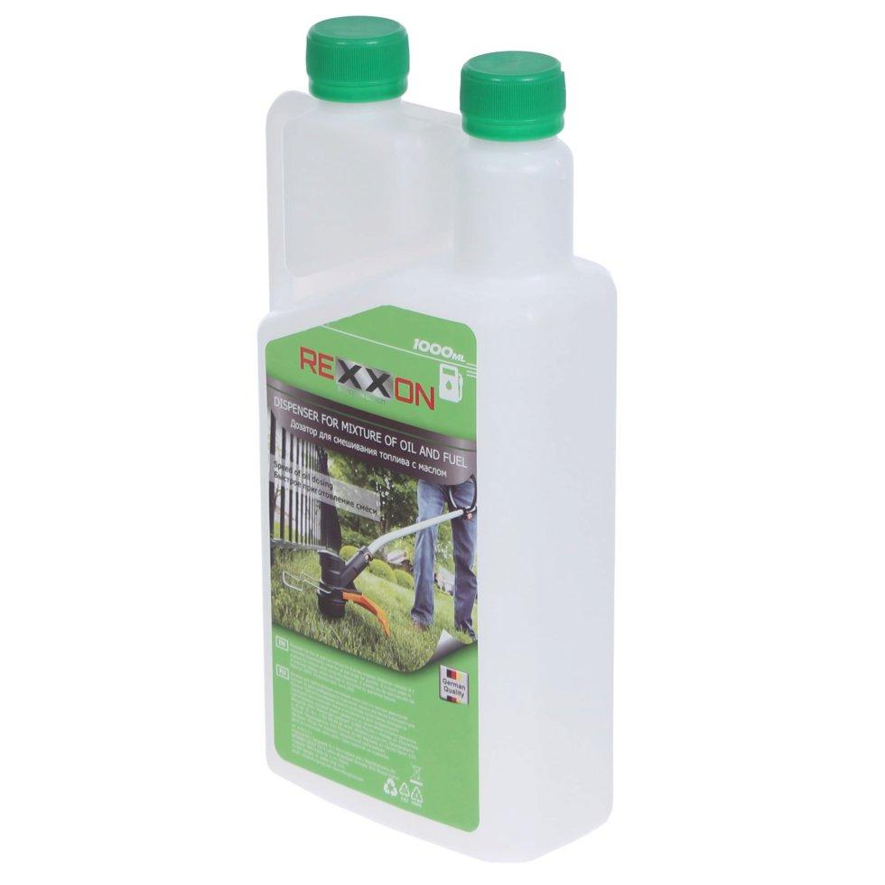 Дозатор смеси масло/бензин Rexxon, 1 л
