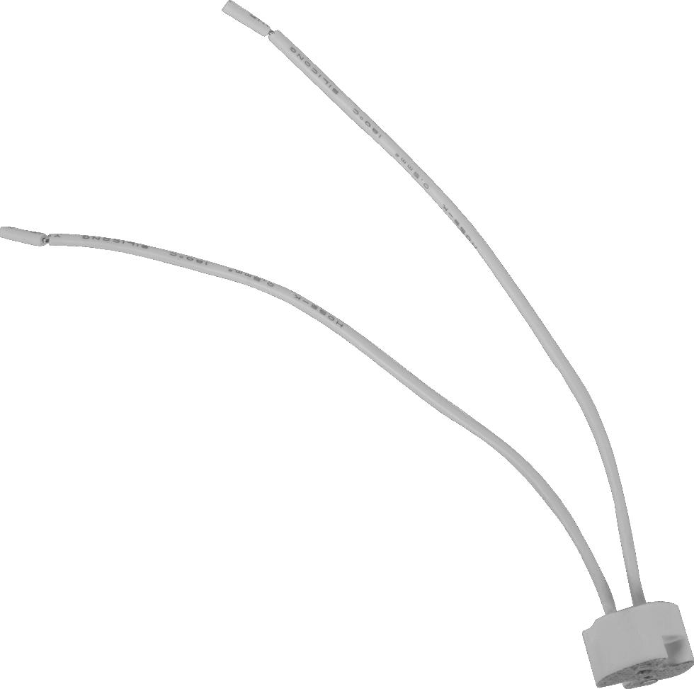 Набор патронов керамических Uniel GU4/GU5.3, 4 шт.