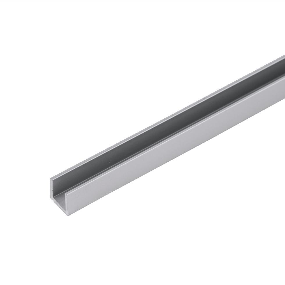П-профиль 4 мм RAL9006