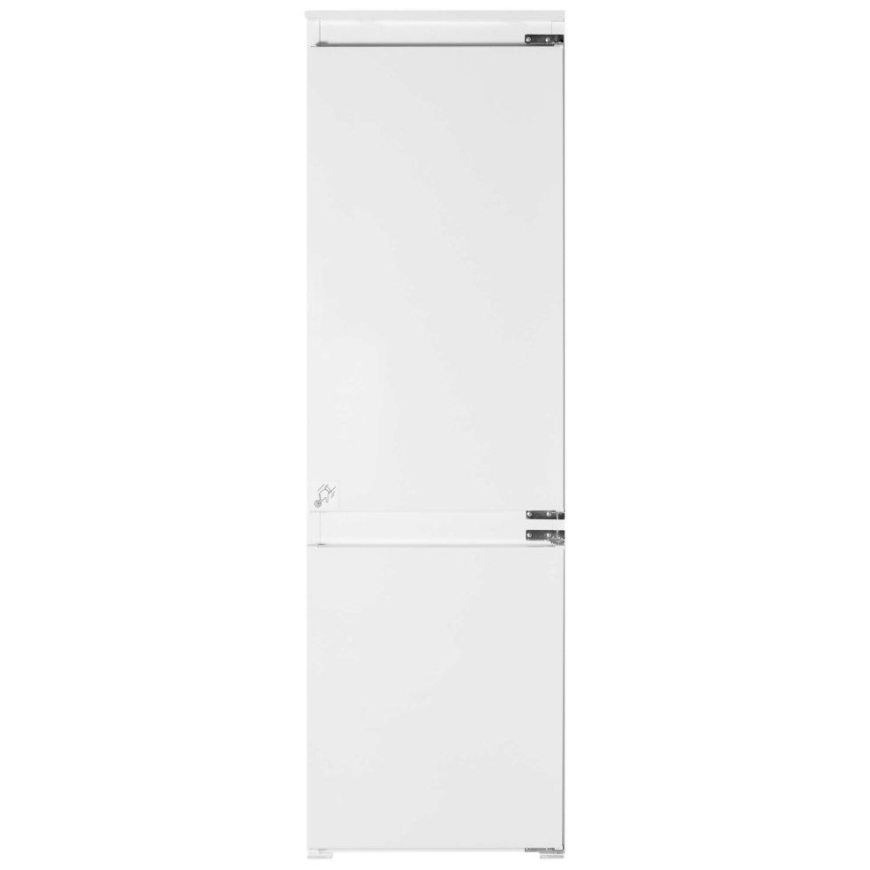 Холодильник встраиваемый двухкамерный Hotpoint Ariston BCB 70301 AA (RU), 177х54 см, цвет нержавеющая сталь