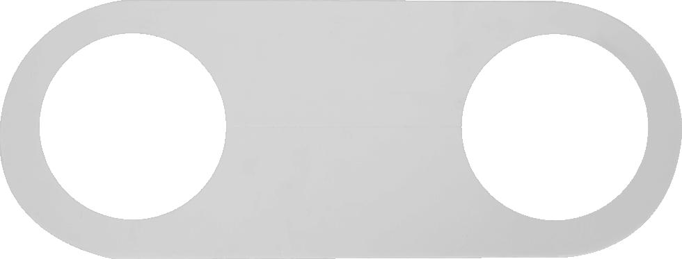 Обвод трубы для натяжного потолка «Своими руками» 110 мм