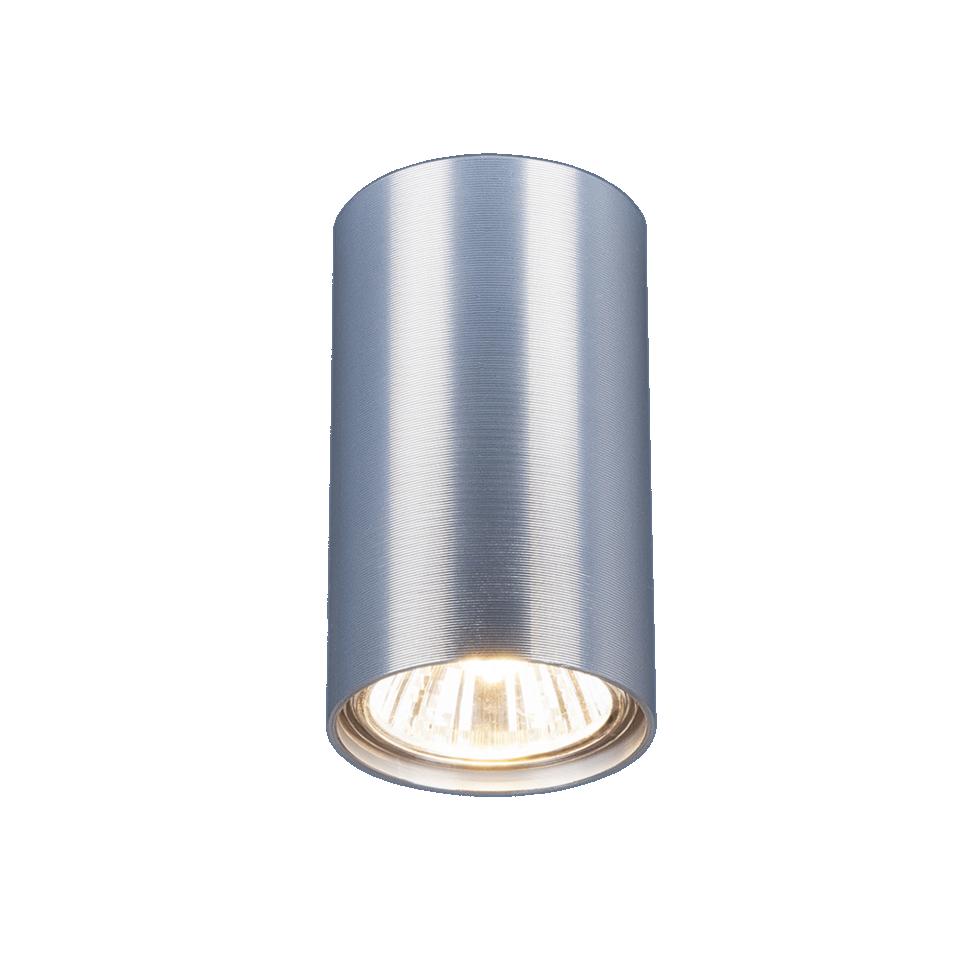 Светильник накладной Elektrostandard 1081, цоколь GU10, цвет сатиновый хром