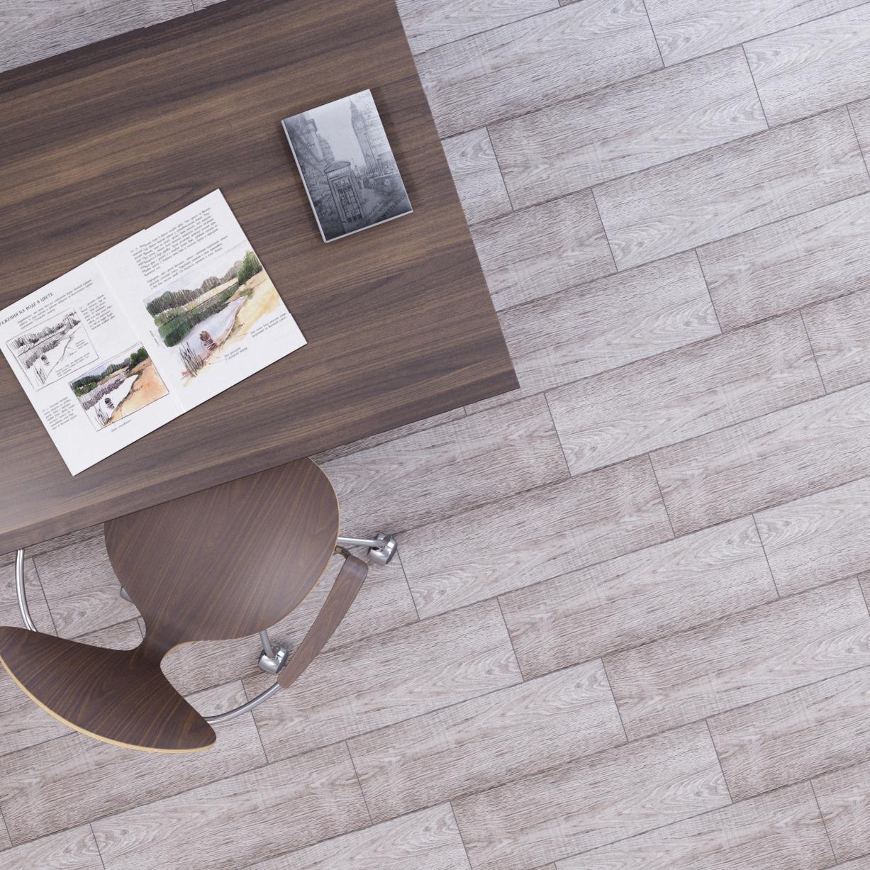 Керамогранит «Parquet» 20х60 см 1.08 м² цвет тёмно-серый