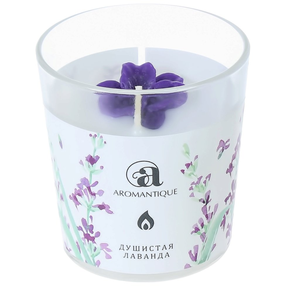 Ароматизированная свеча «Душистая лаванда»
