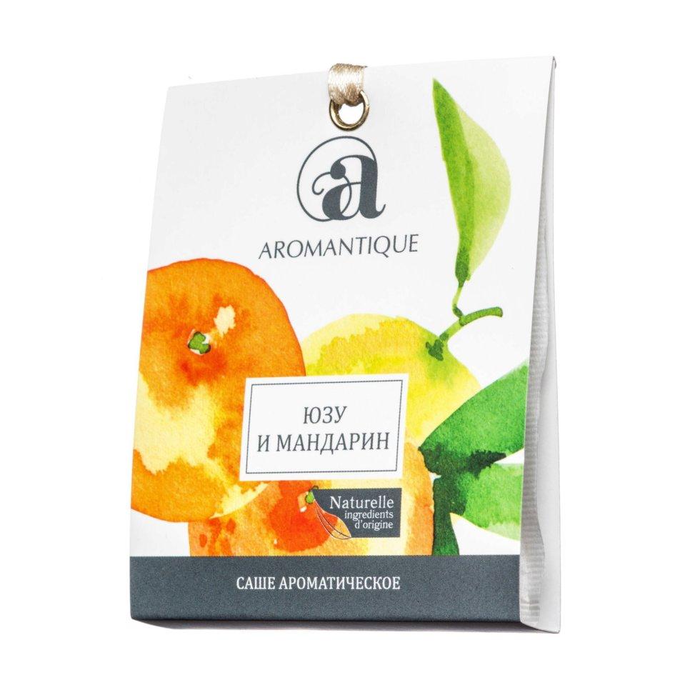Ароматизированное саше «Юзу и мандарин»