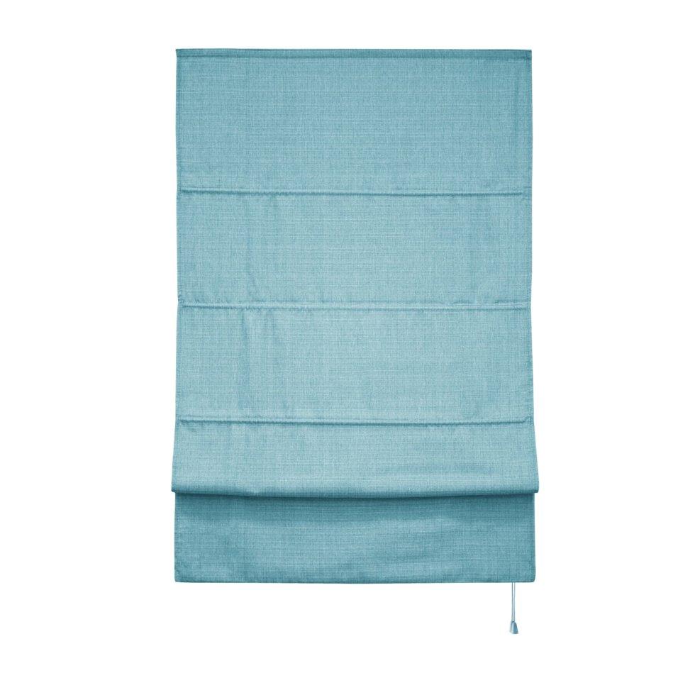 Штора римская «Натур», 160х175, цвет синий